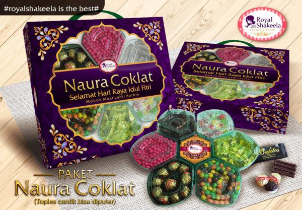 Jual Kue Lebaran Murah - Paket Naura Coklat