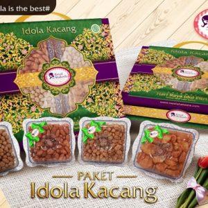 Paket Kue Kering Idola Kacang