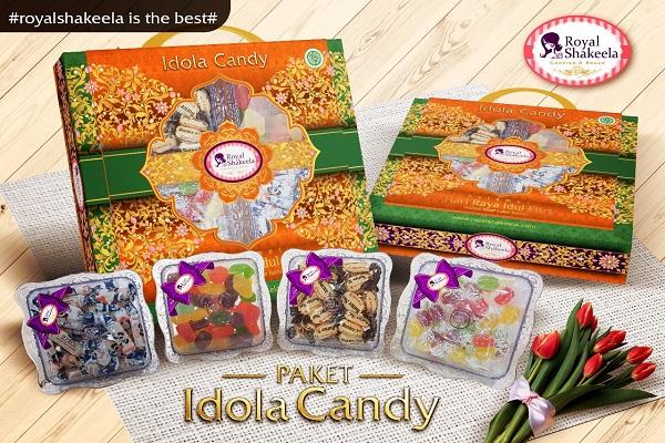 Paket Kue Kering Lebaran Idola Candy