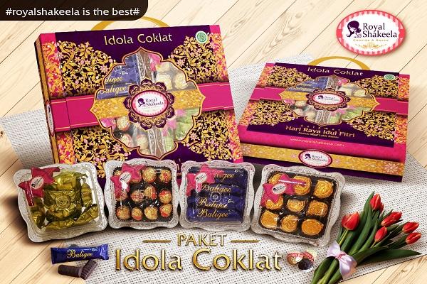 Paket Kue Kering Lebaran Idola Coklat