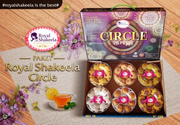 Paket Kue Lebaran Royal Shakeela Circle