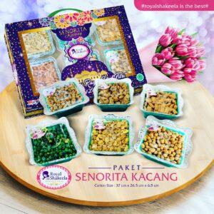 Jual Kue Kering Royal Shakeela Paket Senorita Kacang