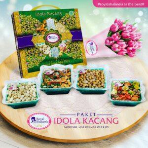 Jual Kue Kering Royal Shakeela Paket Idola Kacang
