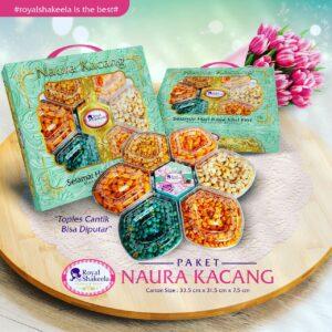 jual Kue Kering Royal Shakeela Paket Naura Kacang