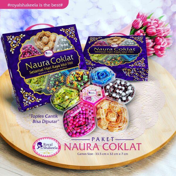 jual Kue Kering Paket Shakeela Paket Naura Coklat
