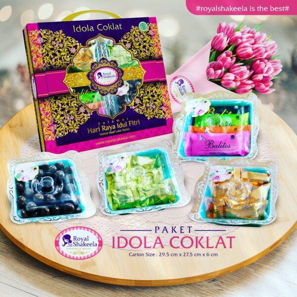 Jual Kue Kering Paket Shakeela Paket Idola Coklat