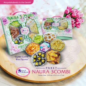 Jual Kue Kering Paket Shakeela Paket Naura 3Combi