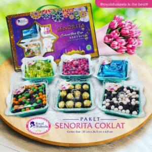Jual Kue Kering Paket Senorita Coklat