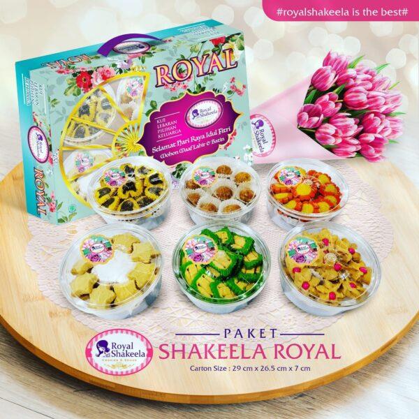 Jual Kue Kering Paket Shakeela Royal 2021